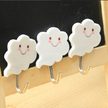 Free Shipping Smiley Robe Hook Clothes Hook Solid Brass Construction with Chrome finish Bathroom Hardware Bathroom Accessories