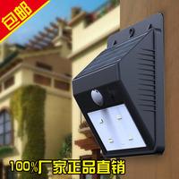 Solar lights led infrared human sensor night light balcony wall lamp