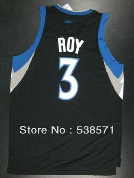 top quality cheap Minnesota roy #3 mens retro basketball jerseys shirt customize logo Rev 30 embroidery white blue
