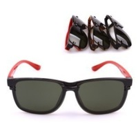 Male ultra-light polarized sunglasses myopia eyeglasses frame belt magnet polarized clip general frames sunglasses