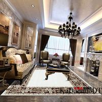 Pure wool carpet rustic new classical american bedroom pad living room coffee table carpet