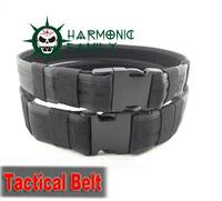 "Airsoft Tactical 600D 1.5"" Nylon Load Bearing Cambat Duty Web Belt Black"