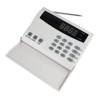 Dropping! Clamshell Voice Alarm 99 Zone Digital Alarm Display 6 Groups of Alarm Phone Number Infrared Alarm Wireless Home Alarm