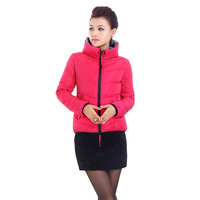 2013 women's autumn and winter slim thin wadded jacket design short down coat