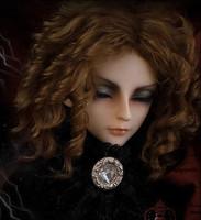 Bjd sd doll wig classical fashion mohair ea curls ,
