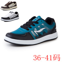 2013 autumn and winter child skateboard shoes medium-large male female child sneaker shoes 38 40