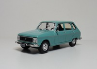 1:43 RENAULT 6 diecast car model