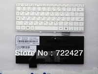 NEW Original Russian Keyboard for LENOVO Ideapad S9 S10 S9E S10E M10 RU layout White laptop keyboard