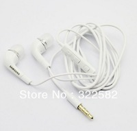 Free shipping 2014 NEW high quality earphones for samsung mobile with microphone and volume control