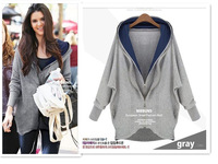 2013 autumn all-match casual spring and autumn sweatshirt female outerwear autumn and winter female sweatshirt