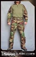 Allwin Tactical BDU Gen 3 Woodland Combat shirt + pants suit  / BDU Military Army clothing set