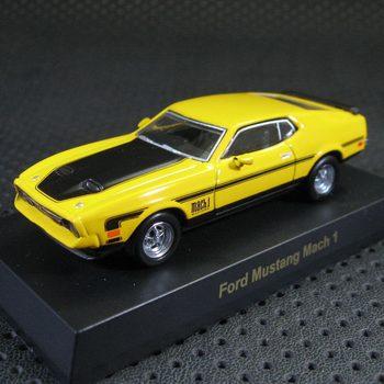 Kyosho 4 alloy car models ford mustang FORD mach1 original box