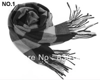 Free Shipping!!! 2013 Wholesale Handmade And Factory Directly Sale Fashion Cashmere Scarf Men Brand Winter