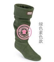 Women men socks rib rain boots socks winter rain shoes matching socks items only socks flock 11 color size 35-44