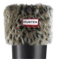 New hunte women men socks Leopard fur rain boots socks winter rain shoes matching socks items only socks Leopard size 35-44