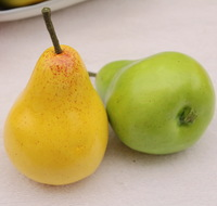 Artificial fruits and vegetables model toy home kitchen cabinet infant pear decoration