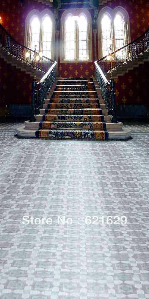 Compra alfombras para escaleras online al por mayor de - Alfombra para escalera ...