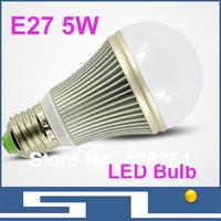 LED Indoor light, 5W LED Bulb,5730 LED Chip, high brightness with 500LM,energy saving,10pcs/lot, free shipping