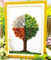 Counted Cross Stitch kit Four Seasons Tree Needlework CR1103