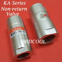 "Free shipping Non return valve KA-15 Port 1/2"" one way valve,KA series pneumatic check valve"
