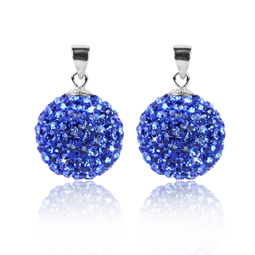 Stone Pendants,Pendants For Necklaces,Silver Charms/Pendants Accessories Free Shipping Blue/Sapphire Color(China (Mainland))
