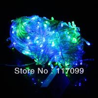 Christmas tree  &Halloween wedding party LED lamp, 100LEDs 10leds/m 110v / 220v  Eng Plug/US Plug LED light  lamp,free shipping