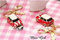 christmas gift  crystal  usb car key pendrive  8GB16GB 32GB 64GB usb flash drive jewelry memory stick thumb drive