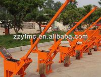 Hand pressed brick machine,Small cheap interlocking brick machine (JZ1-40, JZ2-40)