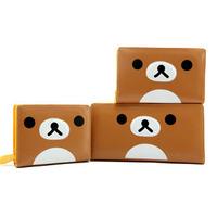 Fashion bear cartoon relaxed short design wallet female wallet  short wallet