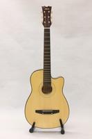 Cotton kapok s-1 cutaway guitar log 38 folk guitar