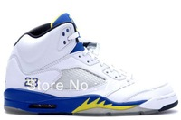 Free shipping 2013 new release good quality sneakers! cheap men women J5 J JD 5 V Laney retro basketball shoes