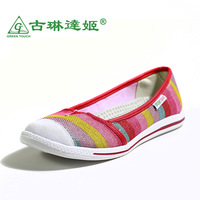 Trend women's shoes flat low flat heel round toe single shoes pedal shoes lazy mother shoes