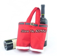 2013  big size 21x24 cm Santa pants style Christmas candy Gifts Christmas Wedding Candy Bags  20pcs/set  Free Shipping