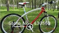 26inch new rainbow high-grade mountain biking, 21 speed, double disc brak mountain bike bicycle