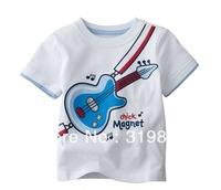wholesales click magnet T-shirt white blue boys tee shirts gita jumping beans t-shirts(18m-5T) 5pcs/lot