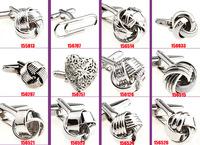 free shipping 40pcs/lot New arrival MEN'S fashion cufflinks cuff links for men Novelty Cufflinks wedding Cufflinks can be mixed