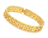 Fashion jewelry, 18k yellow gold filled Leisure bracelet,18k bangle 18k bracelet bangle ,gold bracelet  160