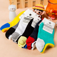 Min. Order is $10 ( Can Mix order ) !Muji b036 couples with high quality colour socks, slipper socks 100% more cotton socks