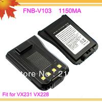 10pcs/lot DHL freeshipping free FNB-V103 FNB V103 FNBV103 for Interphone VX231 VX228 1150mAh NI-MH Rechargeable battery