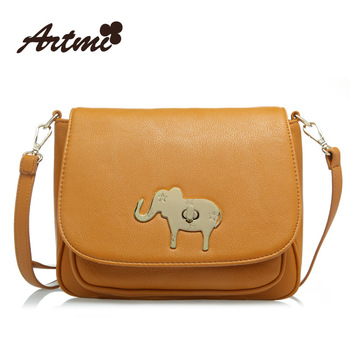 Artmi2013 spring small package clamshell circleof lockbutton vintage bag messenger bag