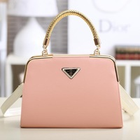 free shipping high quality 2013 women's handbag candy color leather bag brief casual shoulder bags