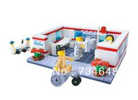 WANGE High Quality Blocks Hospital Series 157 Pcs