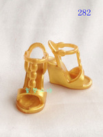 Free Shipping Fashion purple high heel shoes for barbie doll - item no.282 *2