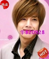 Star style male handsome wig bulkness boys wig sets short hair wigs
