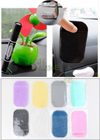 3Pcs Silicon PU Magic Sticky Pad Anti Slip Non Slip Mat for Phone Pad Lighter MP3 MP4 Keys Perfume Accessories 8 color