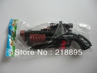 Free shipping  suction-tipped darts toy gun,Shotgun , soft eggs gun ,Toy Pistol Gun,1PCS,Brown, 20cm x 9cm,plastic bags
