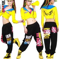 CLC-12 sweatpants women joggers Dancing Fashion doodle hip hop Loose Casual pants Jazz sports winter dancewear women dance pants