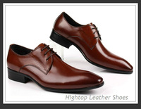 Free shipping HighTop new 2013 mens formal shoes men dress shoes brand genuine leather oxfords shoes business leather shoes38-45