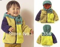 2013 hot sell high quality lovely Baby winter coat  cotton-padded clothes boys coat 3014