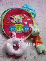 Rabbit ! Rabbit ! new design infant travel pillow cartoon  baby u shape pillow  Free shipping